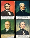 1963 General Mills U.S. Presidents Cereal Box Cut-Out Cards- 20 Asst.