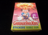 1986 Garbage Pail Kids Non-Sports- 1 Unopened Series 4 Box of 48 Packs- With Price on Wrapper Version