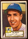 1952 Topps Baseball- #11 Phil Rizzuto, Yankees- Red Back