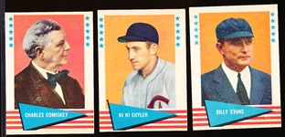 1961 Fleer Baseball Greats- 10 Diff
