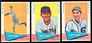 1961 Fleer Bb Greats- 17 Diff