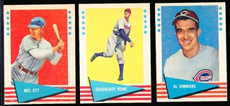 1961 Fleer Bb Greats- 10 Diff