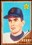 1962 Topps Baseball- #199 Gaylord Perry Rookie!