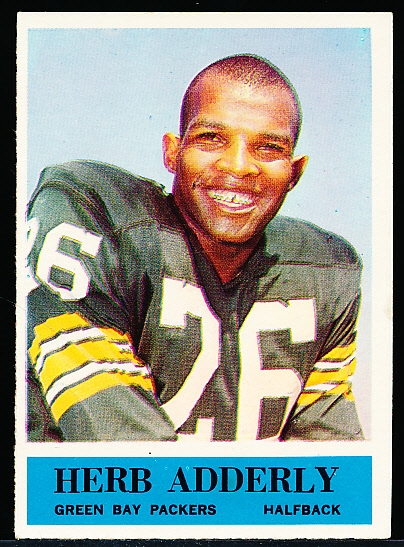 1964 Philly Fb- #71 Herb Adderly, Packers RC