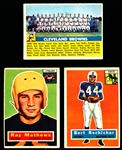 1956 Topps Fb- 12 Diff