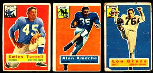 1956 Topps Fb- 7 Diff