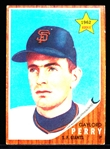 1962 Topps Baseball- #199 Gaylord Perry, RC