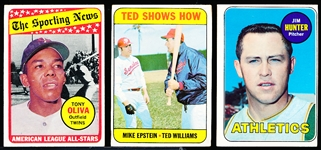 1969 Topps Bb- 14 Diff