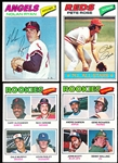 1977 Topps Bsbl.- 1 Complete Set of 660 Cards in Pages
