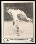 1940 Playball Bb- #33 Ostermueller, Boston Red Sox