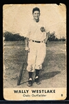 1946 Remar Bread- Oakland Oaks #8 Wally Westlake