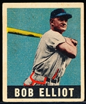 1948-49 Leaf Baseball- #65 Bob Elliott, Braves