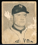 1948 Bowman Bb- #4 Johnny Mize, Giants