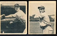 1948 Bowman Bb- 2 Cards