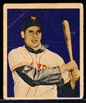 1949 Bowman Bb-#18 Bobby Thomson, Giants- Cream Back