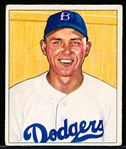1950 Bowman Bb- #112 Gil Hodges, Dodgers
