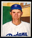 1950 Bowman Bb- #167 Roe, Dodgers