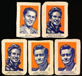 1952 Wheaties- 5 Diff Mixed Sports