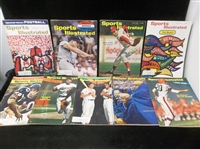 1960's Sports Illustrated Magazines- 9 Diff