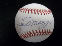 Autographed Joe DiMaggio Official AL MLB Bsbl.- Beckett Certified