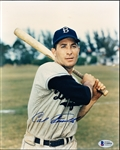 "Autographed Carl Furillo Brooklyn Dodgers MLB Color 8"" x 10"" Photo"