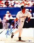 "Autographed Ken Griffey, Jr. Seattle Mariners MLB Color 8"" x 10"" Game Action Photo"