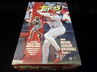 1998 Topps Bsbl.- 1 Unopened Factory Sealed Series 1 Wax Box