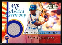 "2001 Topps Gold Label Bsbl. ""MLB Award Ceremony Relic"" #GLR-DS2 Darryl Strawberry"