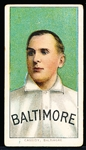 1909-11 T206 Bb- Cassidy, Baltimore- Piedmont 350 back.