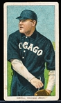1909-11 T206 Bb- Isbell, Chicago Amer- Piedmont 350 back.