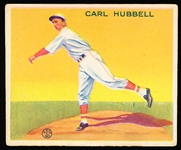 1933 Goudey Bb- #230 Carl Hubbell, Giants- Hall of Famer!