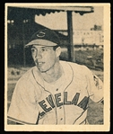 1948 Bowman Baseball- #5 Bob Feller, Cleveland- Hall of Famer