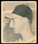 1948 Bowman Baseball- #18 Warren Spahn RC, Braves