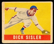 1948/49 Leaf Baseball- #143 Dick Sisler, Phillies- SP