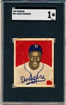 1949 Bowman Baseball- #50 Jackie Robinson, Dodgers- RC- SGC 1 (Poor)