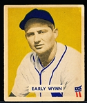 1949 Bowman Baseball- #110 Early Wynn RC, Cleveland