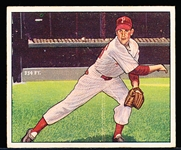 1950 Bowman Bb- #32 Robin Roberts, Phillies