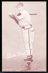 1947-66 Baseball Exhibits- Alvin Dark (Braves)- Tougher Card