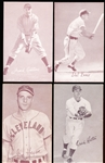 1947-66 Baseball Exhibits- 4 Diff