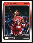 1988-89 Fleer Bskbl. #20 Scottie Pippen RC