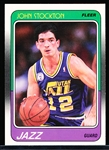 1988-89 Fleer Bskbl. #115 John Stockton RC