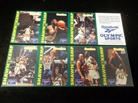 1993 Reebok/Olympic Sports- 1 Complete Shawn Kemp 8 Card Set