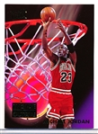 "1993-94 Ultra Bskbl. ""Inside-Outside"" #4 Michael Jordan"