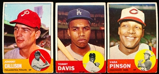 1963 Topps Bb- 16 Diff