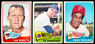 1965 Topps Bb- 23 Diff