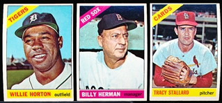 1966 Topps Bb- 15 Diff