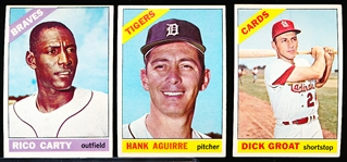1966 Topps Bb- 20 Diff
