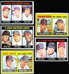 1967 Topps Bb- 5 Diff