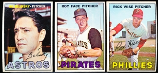 1967 Topps Bb- 22 Diff